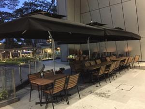 Heavy Duty Outdoor Side Post Cantilever Patio Umbrellas