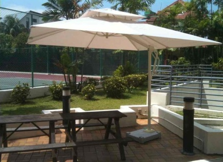 Superieur SINGAPORE PATIO UMBRELLA / OUTDOOR UMBRELLA / POOL CANTILEVER UMBRELLA /  OUTDOOR FURNITURE / CANOPY / RESTAURANT FURNITURE / PATIO FURNITURE / HEAVY  DUTY ...